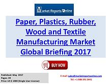 Paper, Plastics, Rubber, Wood and Textile Manufacturing