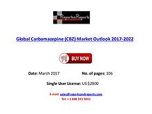 Carbamazepine (CBZ) Industry Forecast 2017-2022