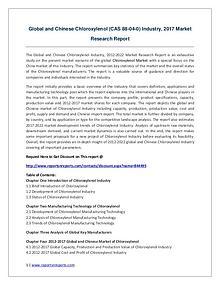 Global and Chinese Chloroxylenol (CAS 88-04-0) Market 2021