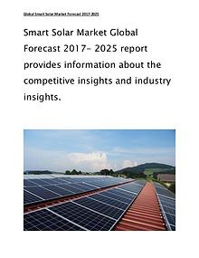 Smart Solar Market Size with Global Industry Forecast and Trends 2017