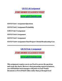 GB 513 RANK  Motivated Minds/gb513rank.com