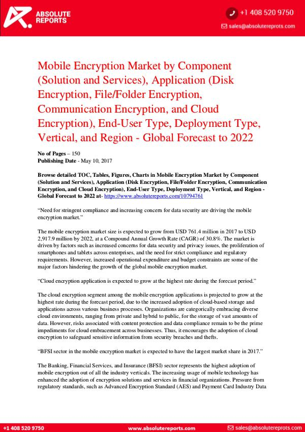 Automotive Mobile-Encryption-Market-by-Component-Solution-and