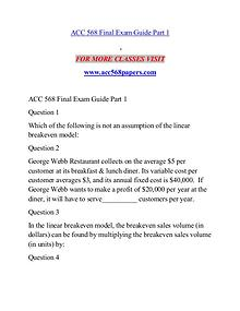 ACC 568 PAPERS Expert Level - acc568papers.com