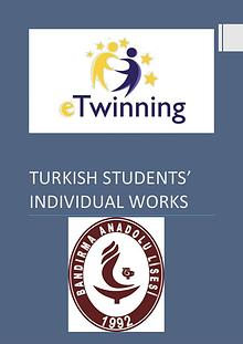 eTwinning Turkish Students' Individual Works