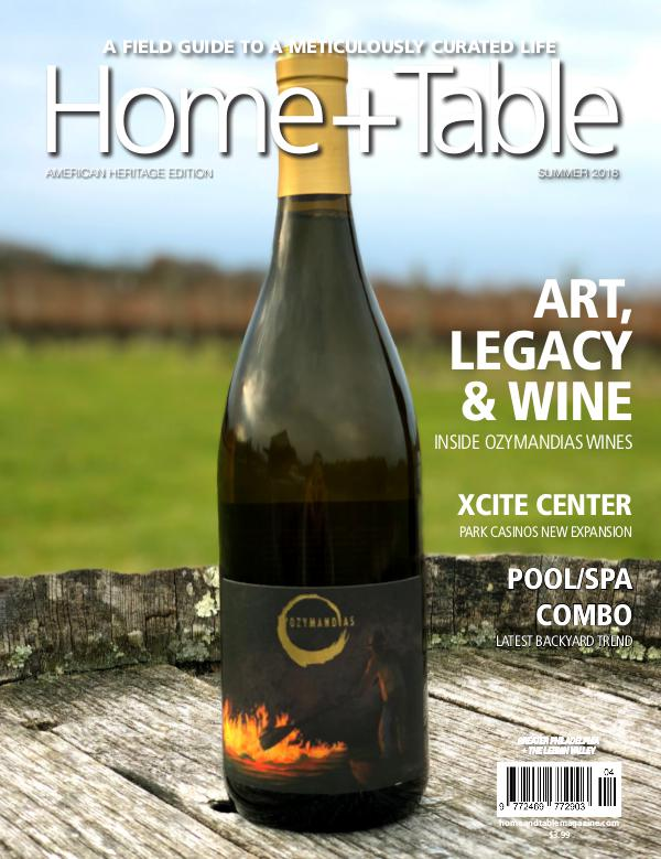 Home and Table Magazine: Greater Philadelphia Edition Summer Issue 2018
