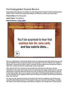 Fat Extinguisher PDF / eBook