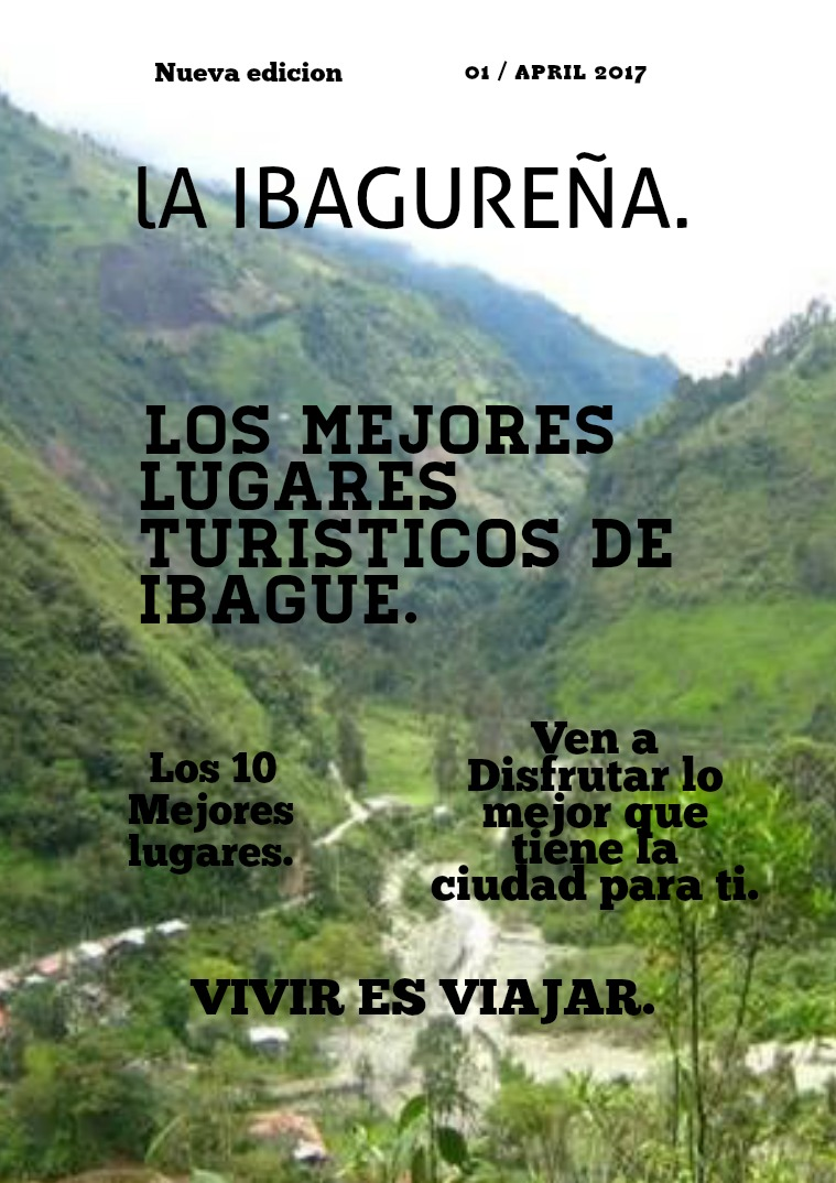 Turismo Ibague LA IBAGUEREÑA (1)