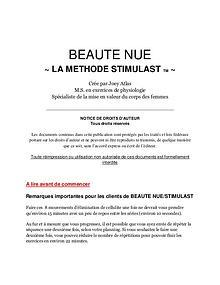 Libre De Cellulite / La Méthode Symulast PDF Télécharger Libre
