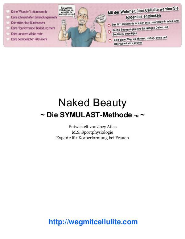 Weg mit Cellulite / Die SYMULAST Methode PDF By Joey Atlas Libre De Cellulite