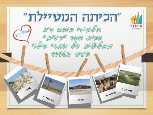 כיתה ד'2 מטיילת- המלצה לאתרי בילוי בעיר אשדוד המלצה לאתרי בילוי ד'2