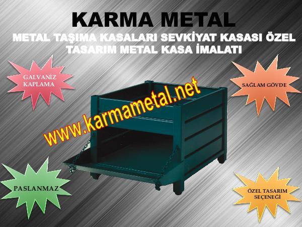 KARMA METAL insaat endustri sanayi metal tasima kasasi kasalari endustri insaat sanayi metal kasa