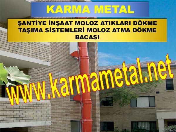 Karma Metal-Moloz Atma Dokme Bosaltma Bacasi Sutu Kulesi moloz atma dokme kulesi bacasi