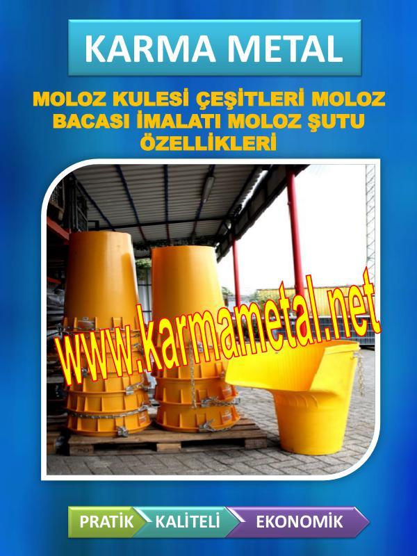 KARMA METAL Moloz kulesi cesitleri moloz bacasi ozellikleri moloz kule montaji