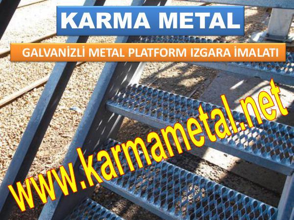 KARMA METAL paslanmaz galvaniz kaplamali metal platform izgara metal platform izgara