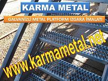 KARMA METAL paslanmaz galvaniz kaplamali metal platform izgara