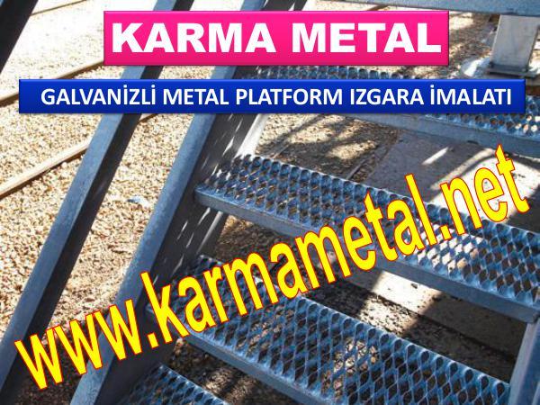 Metal Izgara Yurume Yolu Izgarasi Platform Izgara Imalati KARMA METAL galvanizli metal izgara