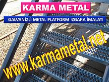 Metal Izgara Yurume Yolu Izgarasi Platform Izgara Imalati KARMA METAL