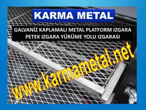 Metal platform izgaralar galvaniz kaplama yurume yolu izgarasi metal platform izgalar