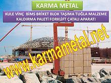 KARMA METAL-Kule vinc forklift yuk tasima paleti imalati