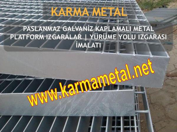 KARMA METAL paslanmaz metal izgara petek izgaralar yurume yolu galvaniz kaplama