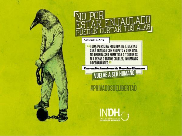 Promoción de los DDHH de las personas privadas de libertad Recurso Informativo Jaidy Gutierrez