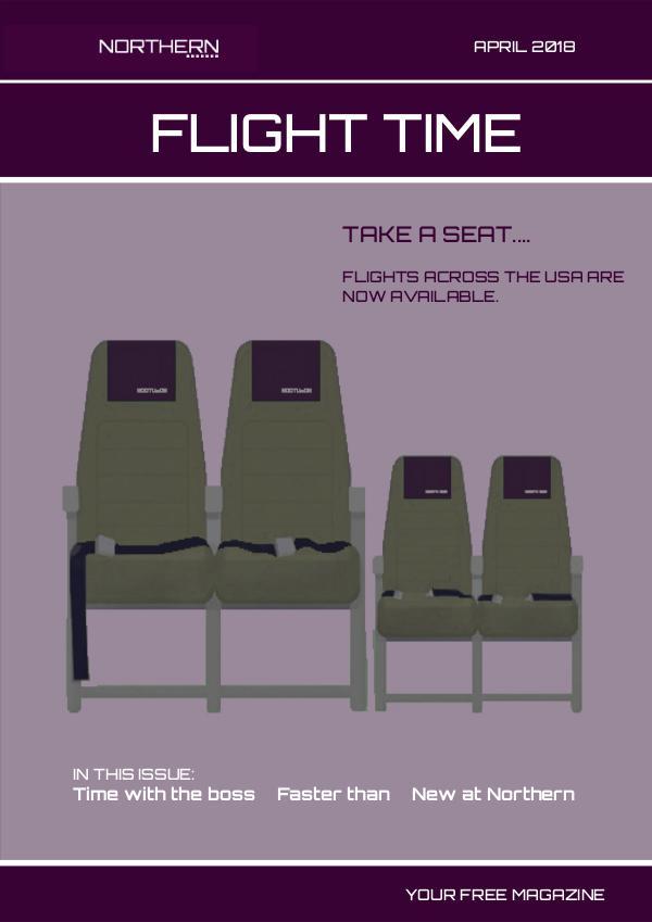 Flight Time Magazine April 2018