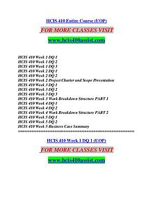 HCIS 410 ASSIST  MotivatedMinds/hcis410assist.com