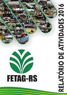 Relatório de Atividades FETAG-RS 2016