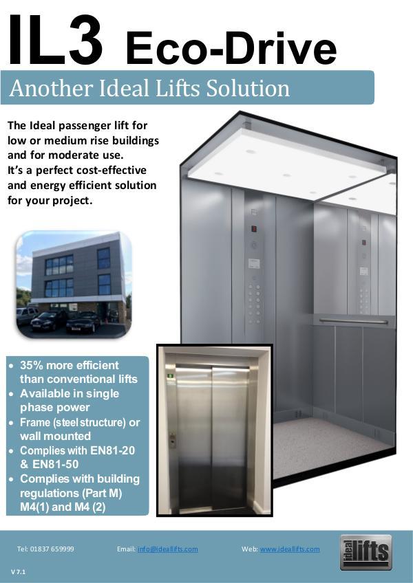 Ideal Lifts IL3 Eco-Drive