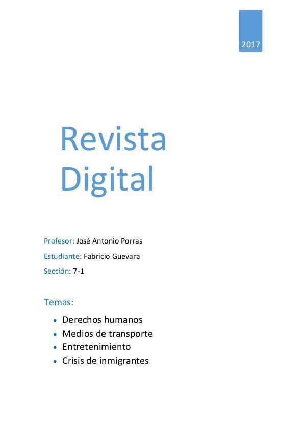 Revista variada R.V