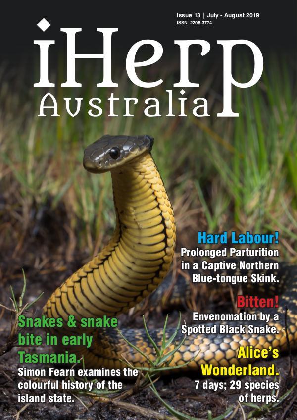 iHerp Australia Issue 13