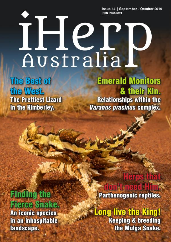 iHerp Australia Issue 14