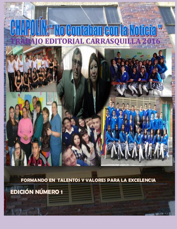 Edición Especial Carrasquilla 2016