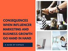 Consequences when Influencer Marketing and Business Growth Go Hand in