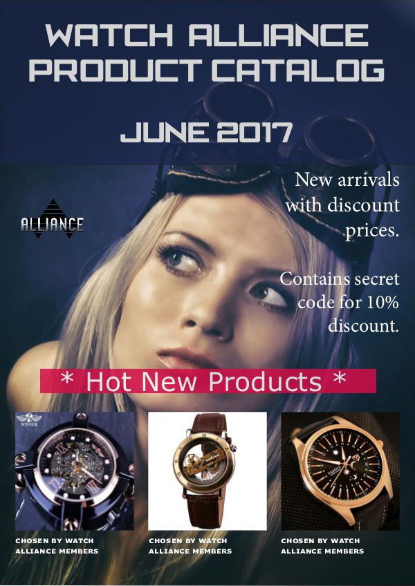 Watch Alliance Catalog June 2017 WA-Catalog-2017june