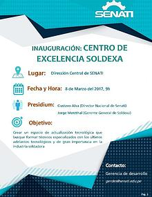 Inauguración Centro de Excelencia SOLDEXA