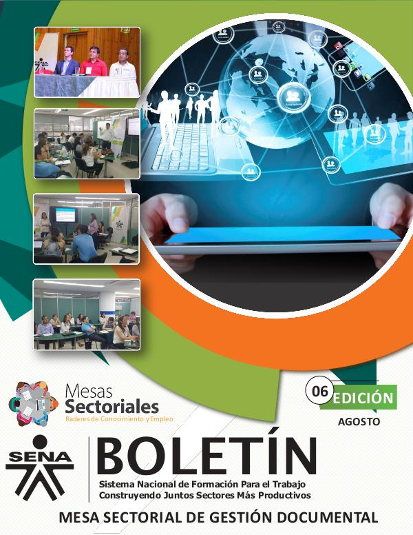 Boletín Numero 6 - Mesa Sectorial de Gestión Documental Boletin N° 6 (1)