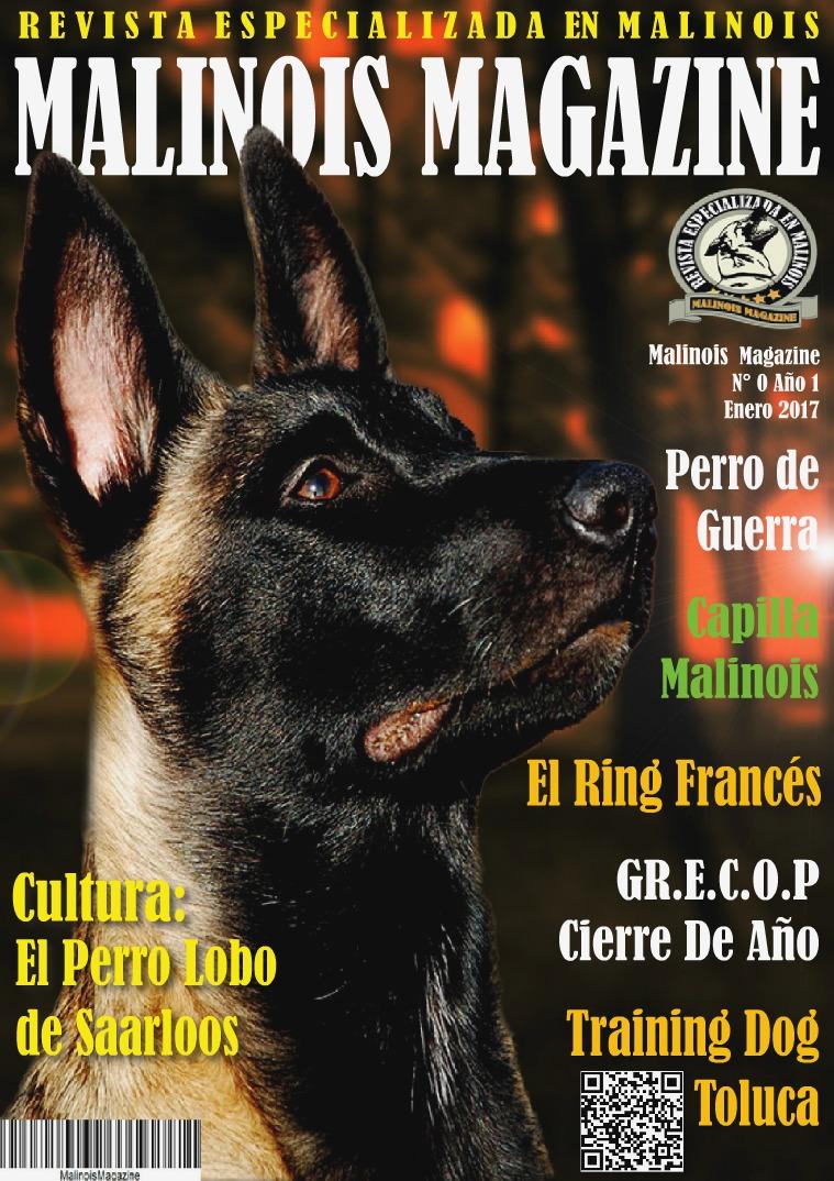 Malinois Magazine N°0 Enero 2017