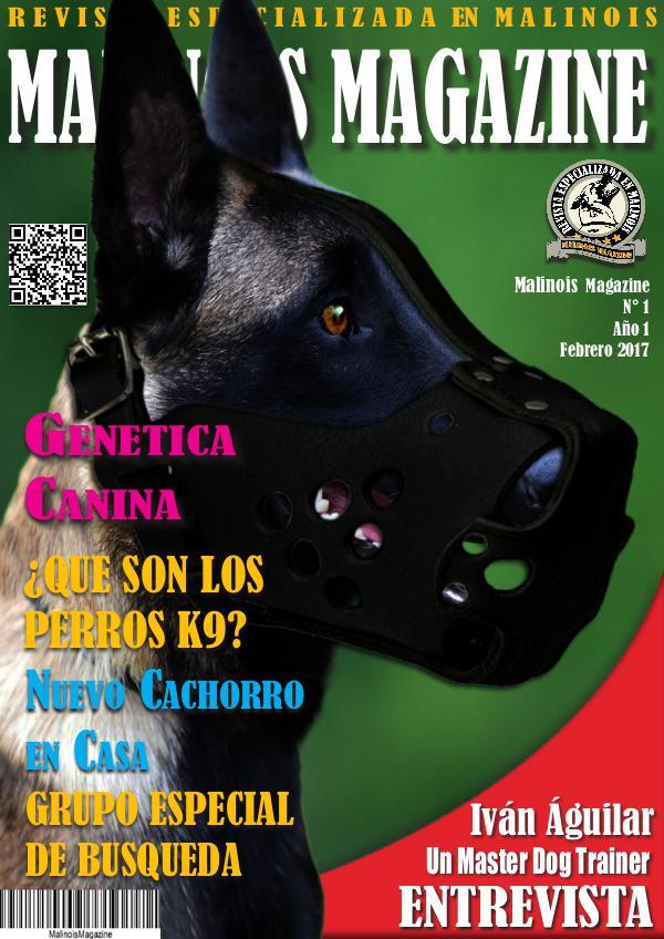 Malinois Magazine N°1 Febrero 2017