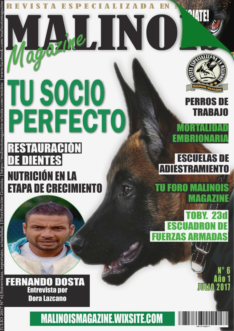 Malinois Magazine N 6 Julio 2017