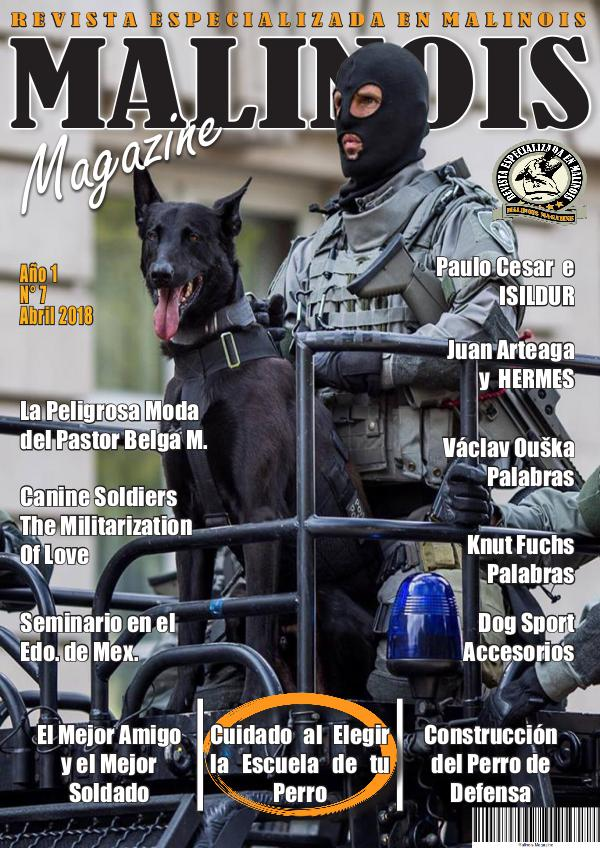Malinois Magazine Abril 2018