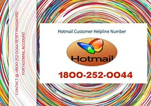 Contact +18OO-252-OO44 Reset Password For Hotmail Account