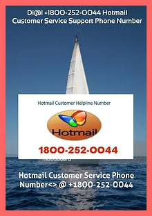 Di@l +18OO-252-OO44 Hotmail Customer Service Support Phone Number