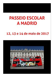 Passeio Escolar a Madrid