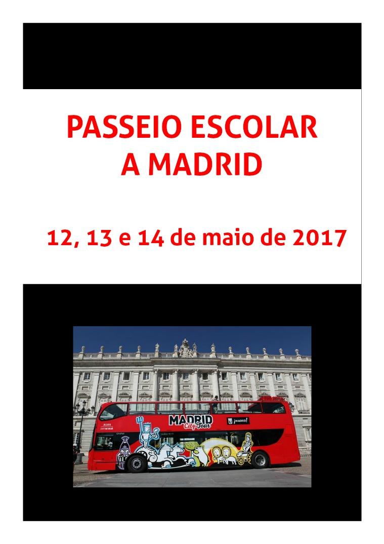 Passeio Escolar a Madrid Espanhol