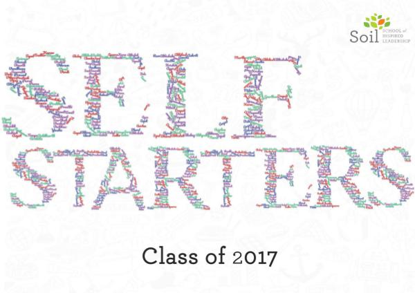Yearbook Self-Starters Yearbook Self-Starters