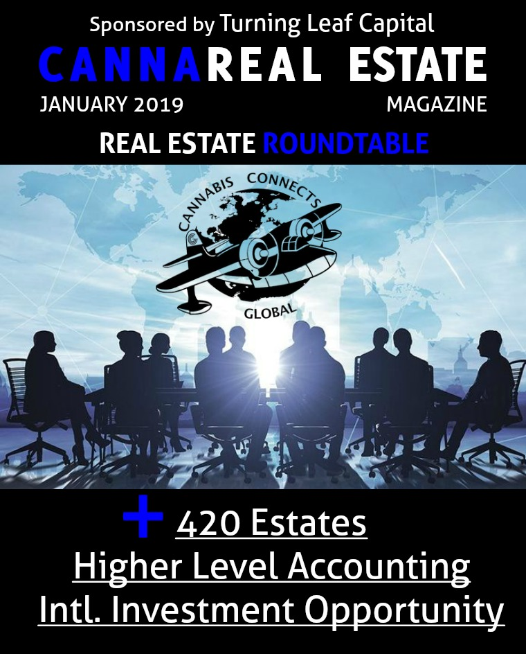 CannaReal Estate Magazine January 2019