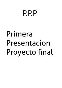 Primera Presentación C.C
