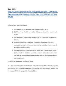 STAT 200 Final Examination
