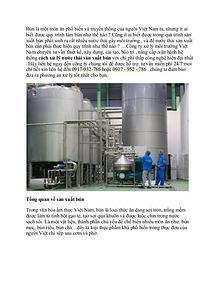 Công ty xử lý nước